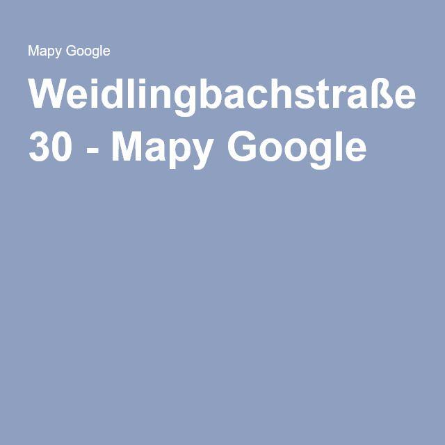 Weidlingbachstraße 30 - Mapy Google
