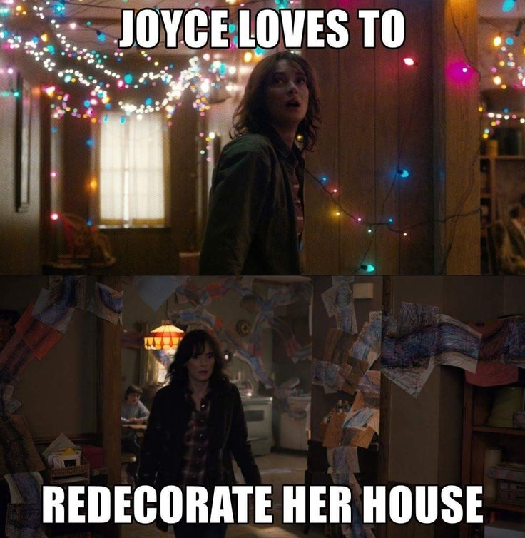 wondering what the Byers house will look like for season 3...