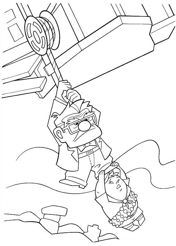 46 Best Disney Up Coloring Pages Images On Pinterest