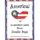 Do you need a quick center or a fun little review game to practice the America skills you have been talking about?  These are great! This is a se...