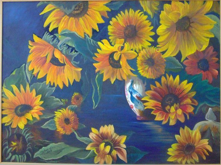 Girasoles, de Isabel Gallardo.