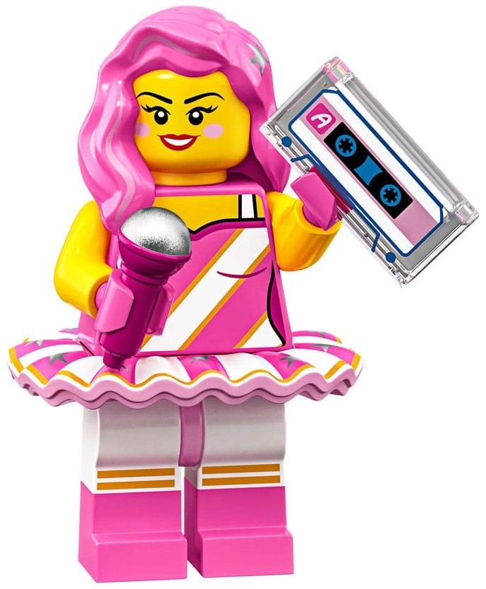 Lego Minifigures 71023 Candy Rapper Lego Movie Lego Movie 2 Lego Star Wars