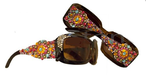 17 Best Images About Bling Sunglasses On Pinterest