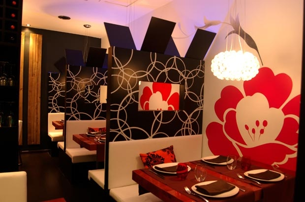 "Asian Restaurant Interior Design - Silvan Francisco, ""Lounge Yi"" Paseo Doctor vallejo Nájera, in Madrid. 2010"