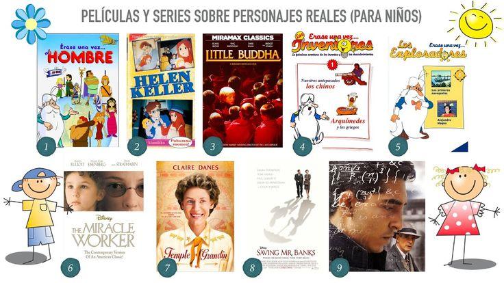 Valores e historia con películas y series basadas en personas reales