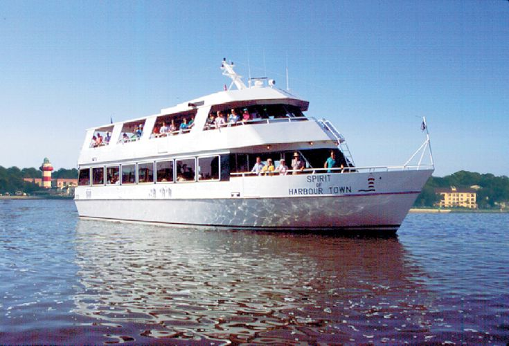 "A ""must do"" for visitors to Hilton Head Island is a boat cruise to Savannah. Skip the hassles of driving and arrive at Savannah's River Street in style."