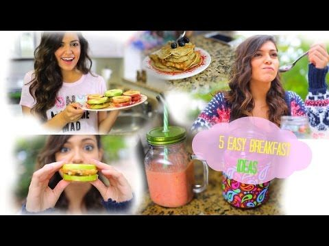 416 best bethany mota images on pinterest bethany mota by bethany mota 5 easy fast breakfast ideas for school macbarbie07 negle Image collections