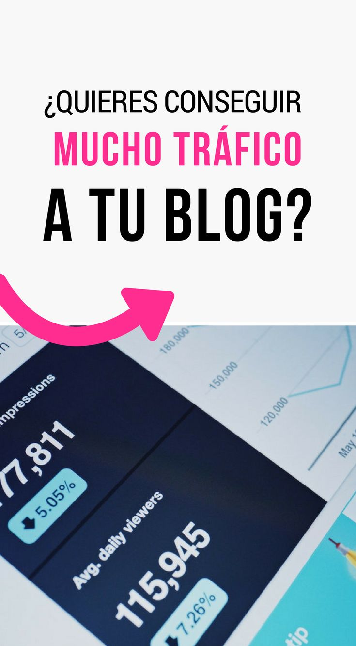 ¿Quieres conseguir mucho tráfico a tu blog? Pinterest te puede ayudar en esto  | Marketing Tips | Pinterest Tips | Pinterest Marketing | Pinterest Marketing for Bloggers | Blog Tips for Beginners #pinterestmarketing #pinterestespañol #emprendedores #marketing #artesania #blogger