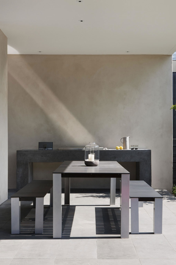 Minimal Outdoor Benches