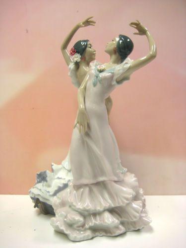 OLE-SPANISH-DANCERS-WOMEN-FIGURINE-BY-LLADRO-