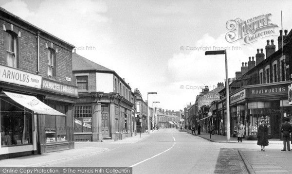 Widnes, Widnes Road c.1955, from Francis Frith