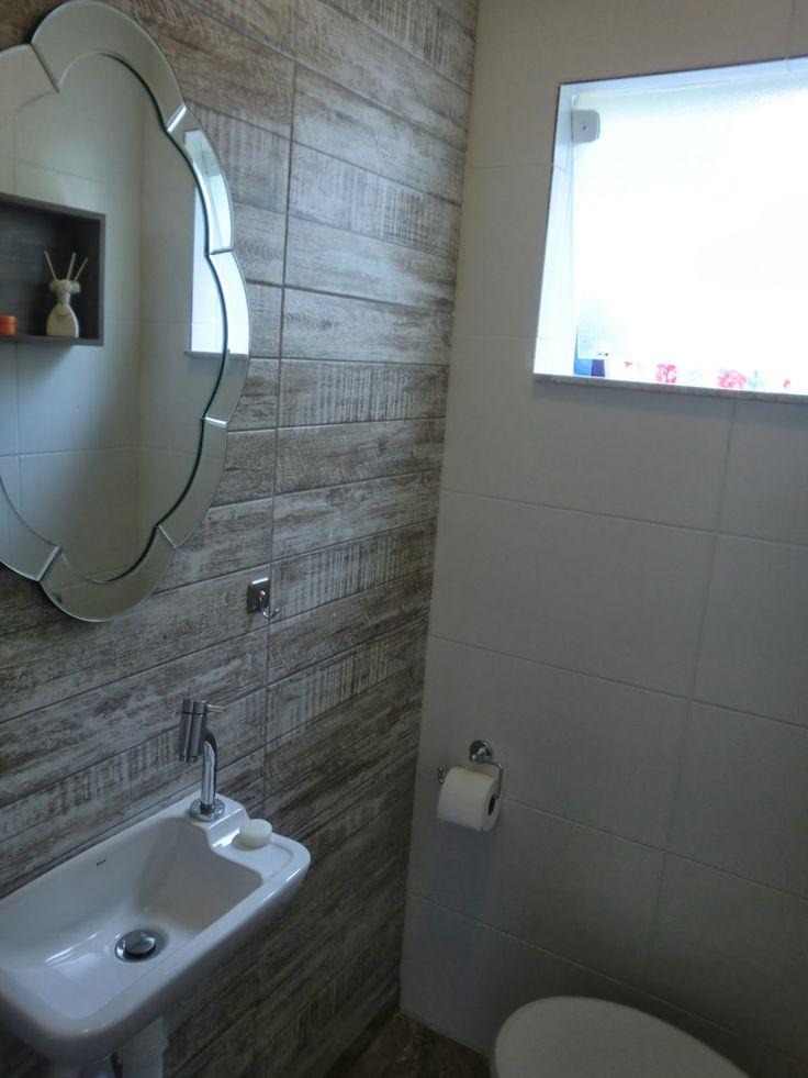 lavabo decoracao barata:Mini Lavabo – Depois da Reforma – Antes e Depois – Reforma de Banheiro
