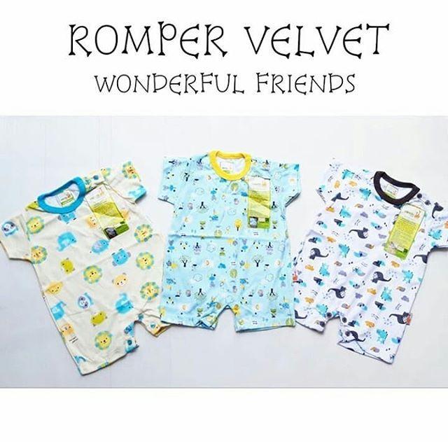 Merk Baju Bayi Velvet