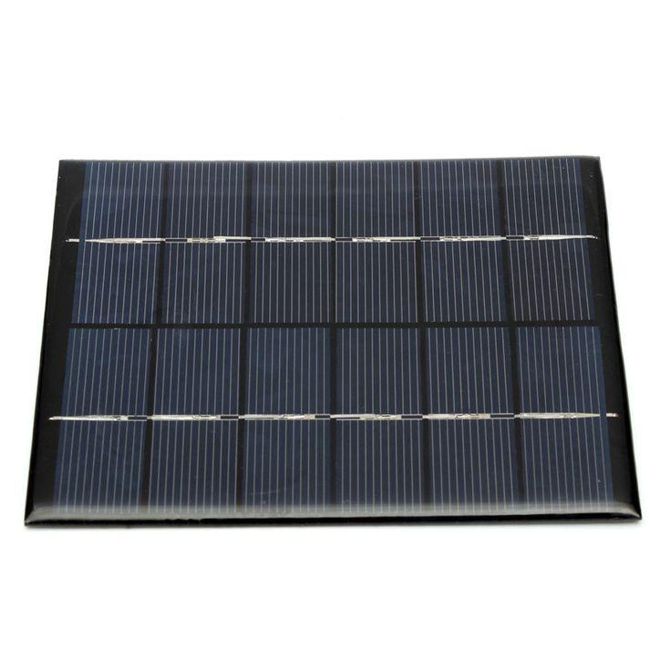 Zonnepaneel Module voor Licht Batterij Mobiele Telefoon Oplader Draagbare 6 V 2 W 330MA DIY