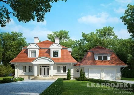 Projekty domów LK Projekt LK&1132 - http://lk-projekt.pl/lkand1132-produkt-9143.html
