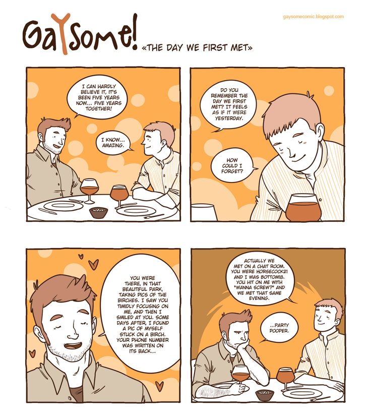 Gay cartoon comic strips