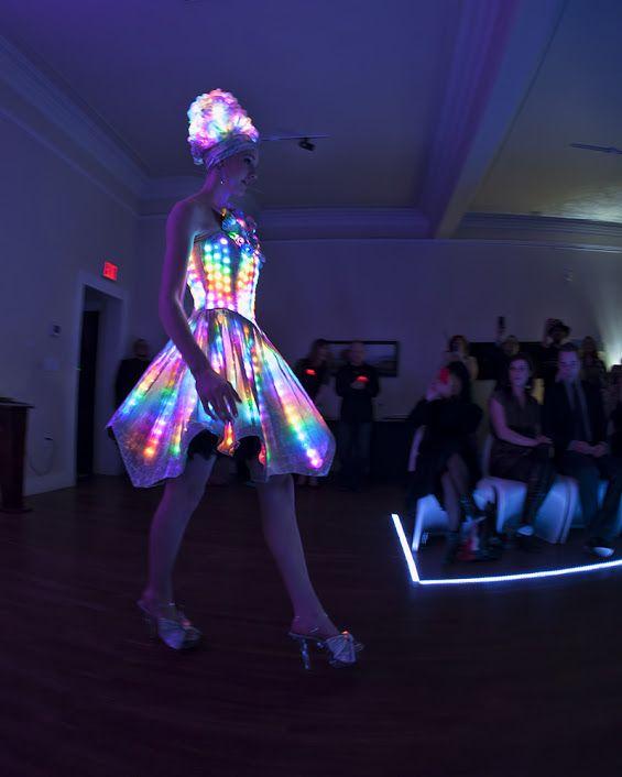 Chameleon Dress for Make Fashion by Angela Dale. www.makefashion.ca