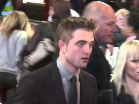 Rob and Sister Victoria at BD2 2012 London Premiere