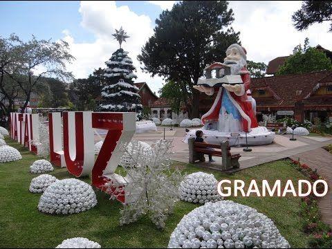 Gramado - Natal Luz (2016) | Christmas of Lights in Brazil #gramado