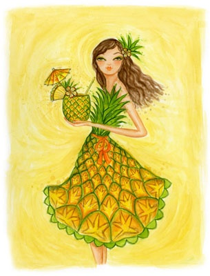 """pine apple girls """"i have been working with cheri and pineapple gifts for over five years i use her for all of my client gifts as well as special presents for my employees."""