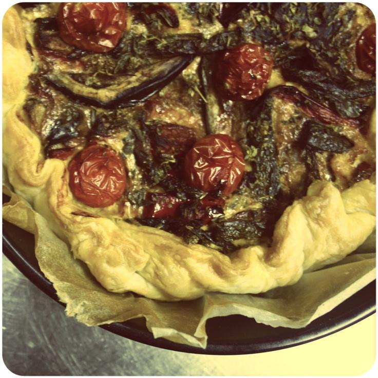 Torta salata alle Zucchine, Pomodorini Pachino e Ricotta www.cadememi.it