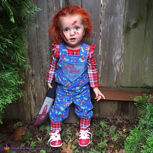 Chucky Costume - 2015 Halloween Costume Contest via @costume_works