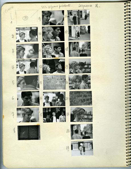 Chris Marker's workbook for the creation of La Jetée http://www.theguardian.com/film/2014/apr/15/thrilling-prophetic-chris-marker-experimental-films