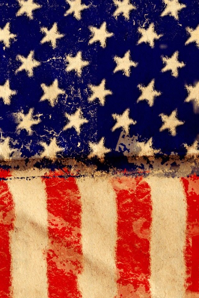 American Grunge Flag Wallpaper 4k For Mobile Android Iphone Flags Wallpaper Iphone Wallpaper Wallpaper
