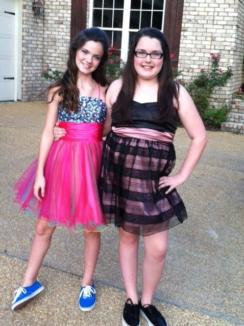 Middle School Dance Dresses | ... guntown middle school homecoming dance here they are before the dance