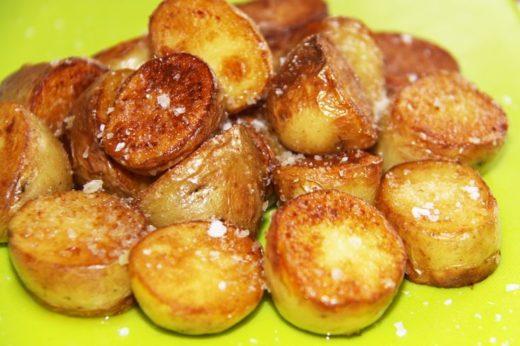 Fried New Potatoes with Truffle Oil
