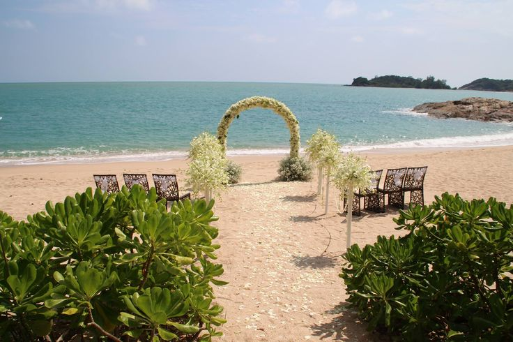 Beautiful wedding in Koh Samui