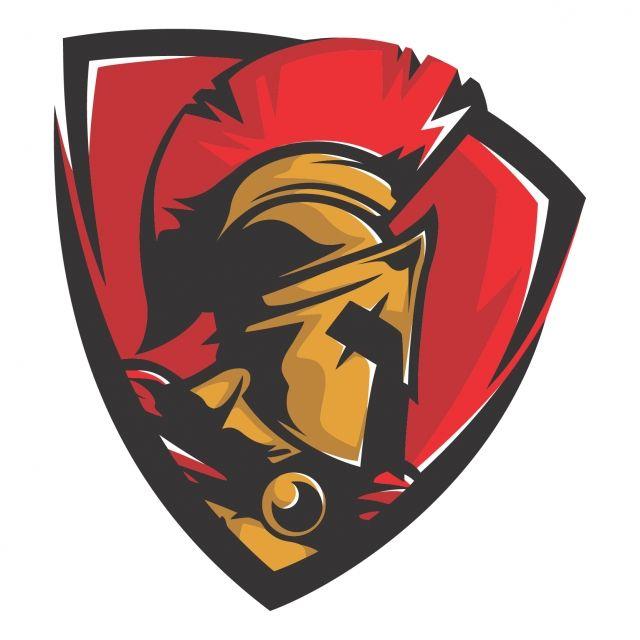 King Leonidas Head Vector Legend Mascot Trojan Png And Vector