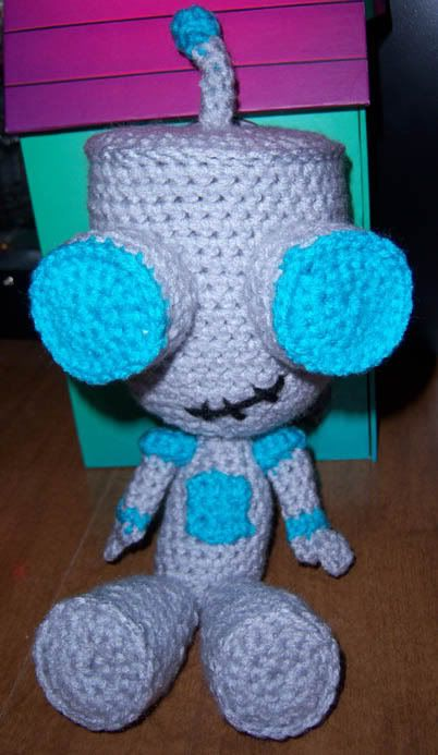 Doom Doom Doom Doom    Free GIR crochet pattern  By: April Folts  For personal use only
