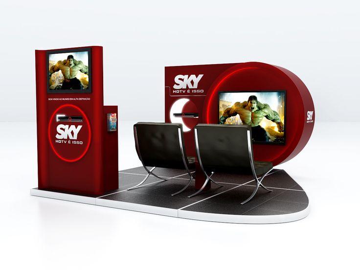 Stand Sky | Brasil on Behance