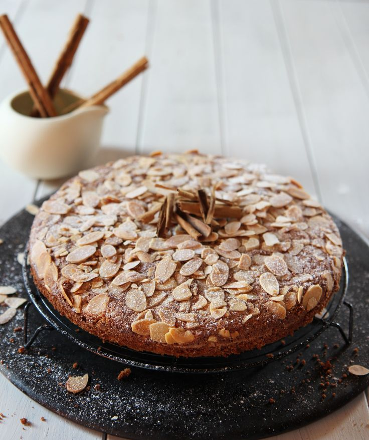Shelina Permalloo for Billington's - Almond & Cinnamon Cake