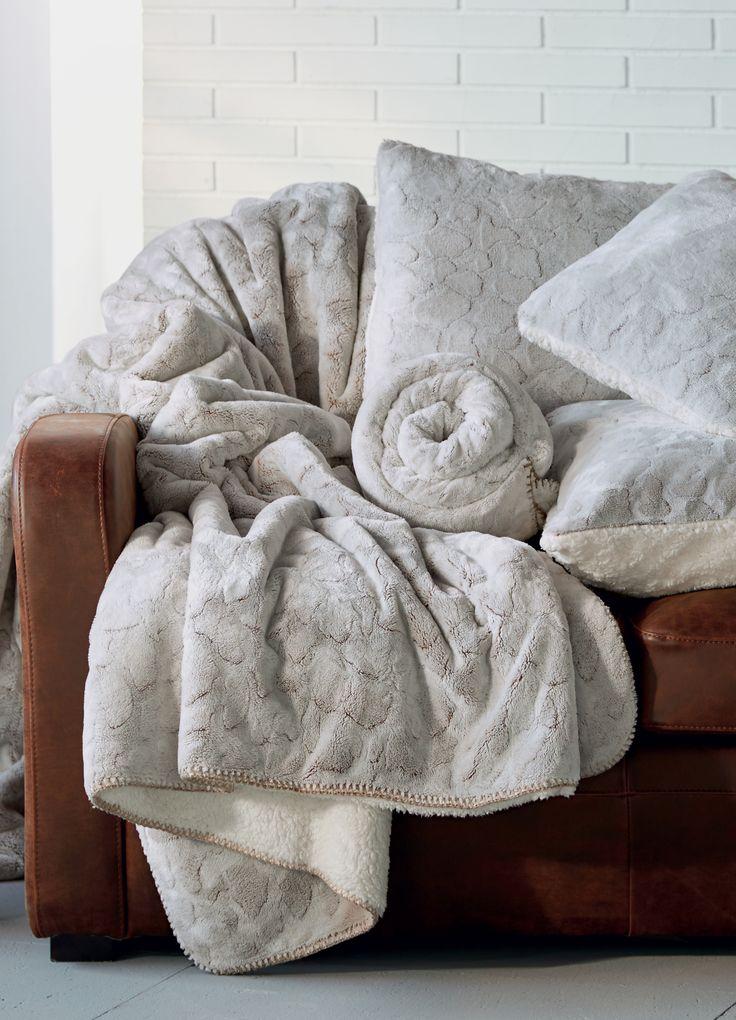 Sofy | Plaid imitation fourrure 220x250cm - Décoration - Déco - Maison - Alinéa