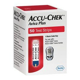 AccuChek Aviva PLUS Test Strips  50ct >>> You can find out more details at the link of the image.