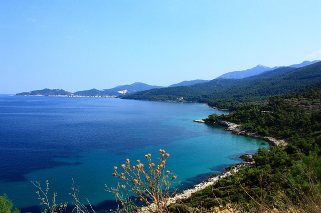 Thassos - the northern coast by luci_abrudan, via Flickr