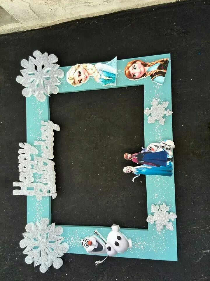 Cuadro para fotos frozen creacines rv pinterest frozen - Cuadros de pared ...