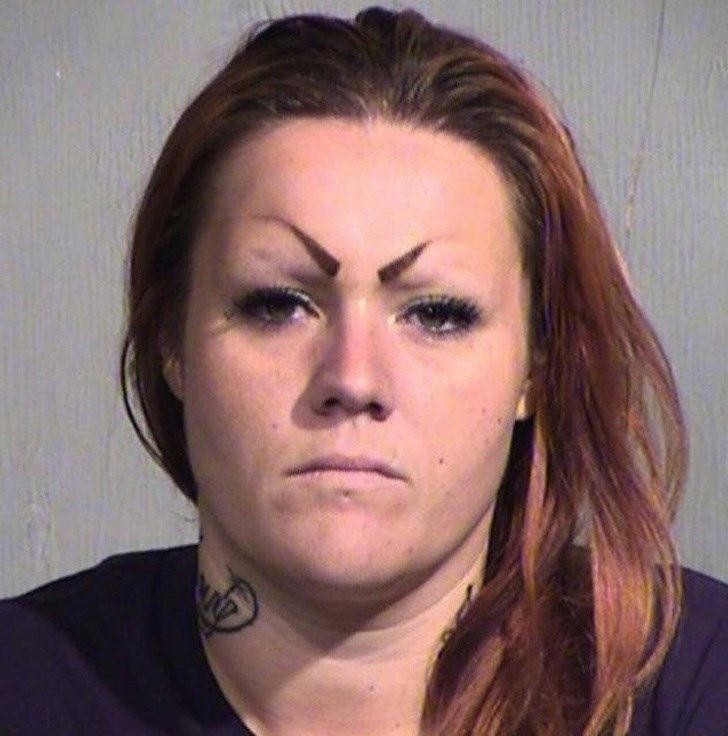 bad eyebrow tattoo pictures