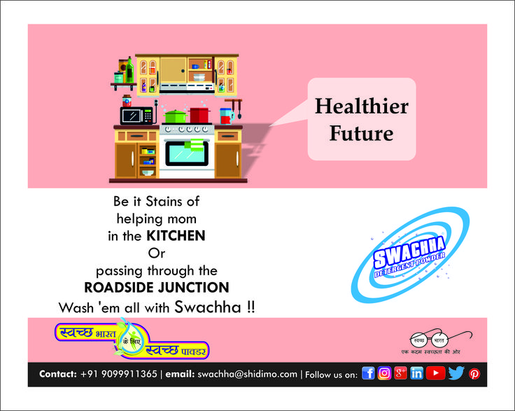 Try Swachha Detergent Powder and see the magic it does on your clothes....! #Detergent #surat_friendly