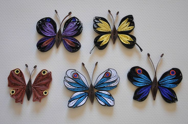 528 best images about quilling butterflies on pinterest - Paper quilling art wallpapers ...