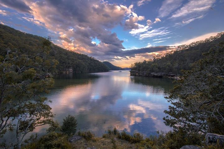 Jerusalem Bay, Cowan, NSW, Australia (photo by Daniel Nolan)
