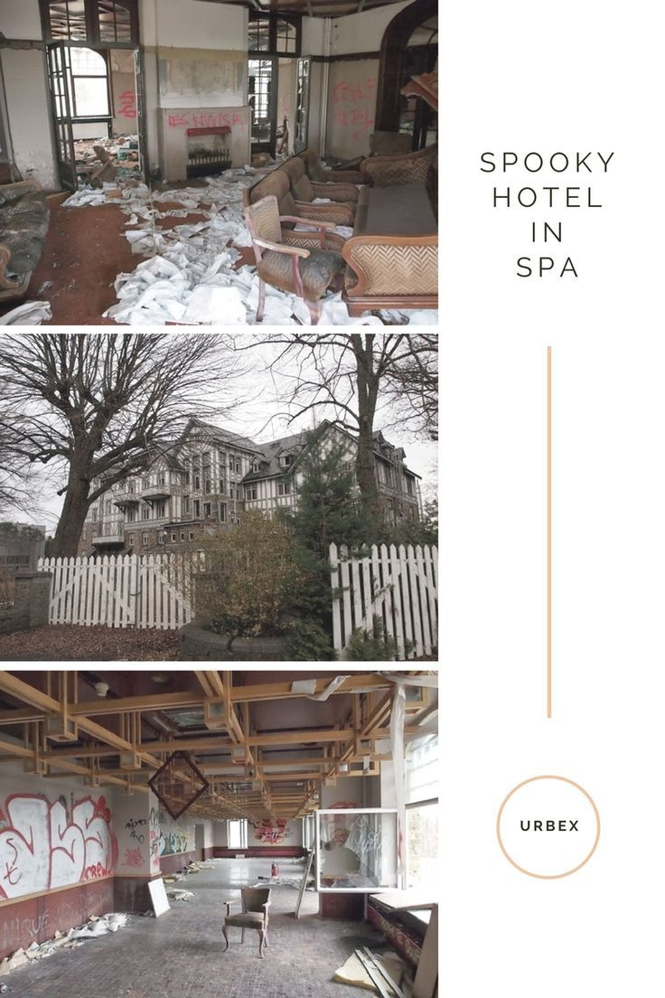Urbex / Urban Exploration / Spooky Hotel / Spa / Belgium / Hotel du Golf / Spooky