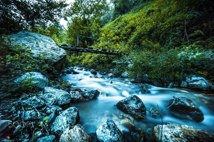 Luoghi Abbandonati! - Old bridge in this abandoned river in the mountains of Itay! ©2016  Like it my facebook page: