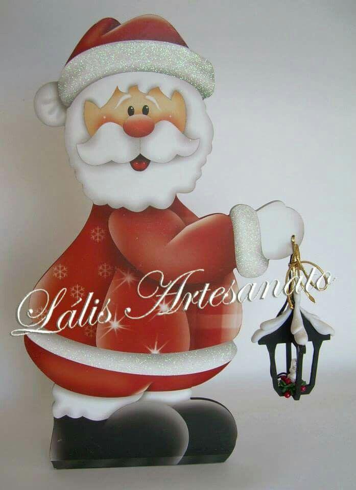 1044 best painted santa 3 images on pinterest tole for Santa glasses for crafts