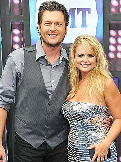 Blake Shelton and Miranda Lambert! [ i absolutely adore those two. they are too precious! ]