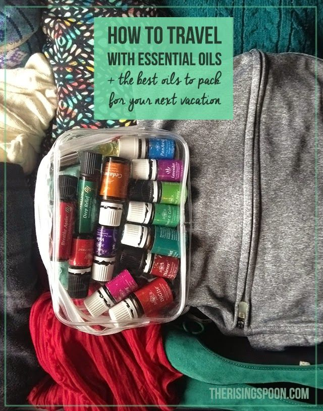 How to Travel with Essential Oils + The Best Oils to Pack
