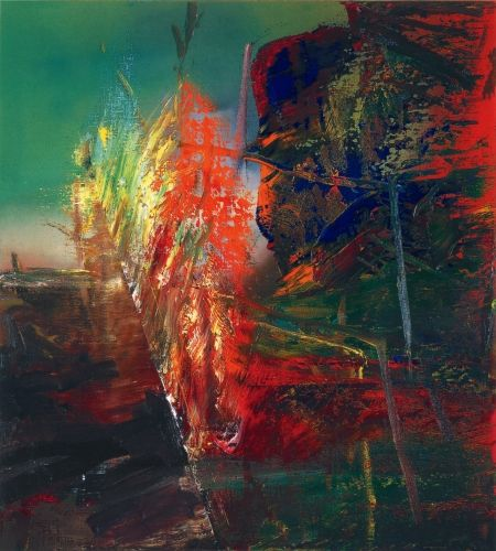 Gerhard Richter (German, 1932- )» Abstract Painting » 1986
