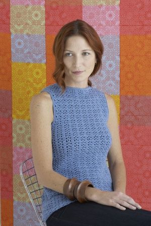Crochet Shell Pattern. Cute tank top that's fun and easy to make.